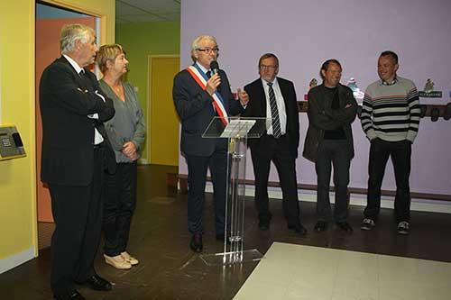 Inauguration du restaurant scolaire de Le Sourn